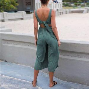 diviine Pants - Wide leg blue gray  jumpsuit